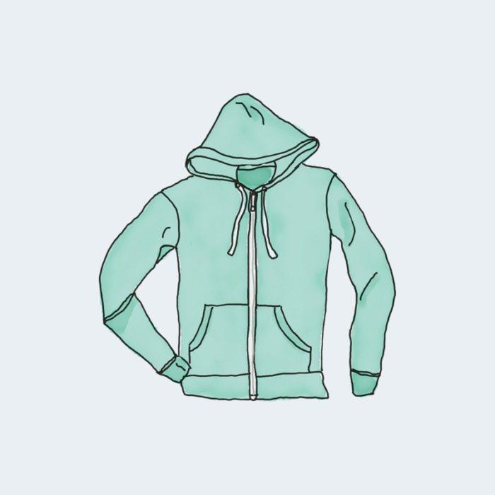 hoodie with zipper 700x700 - Hoodie with Zipper