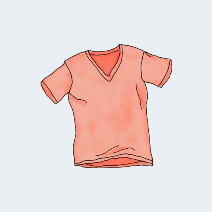 vneck tee 700x700 - Vneck Tshirt